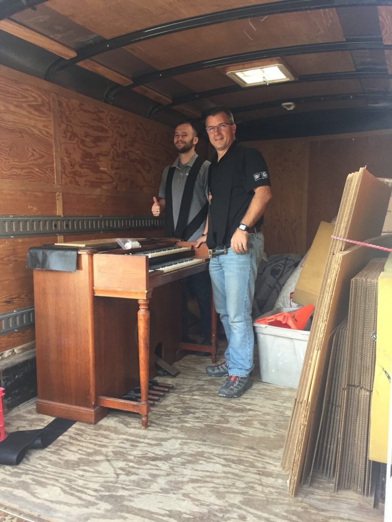 Hammond Organ Crated & Shipped
